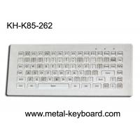 Cheap Water resistant stainless steel Industrial Metal Keyboard without mouse , 85 keys for sale