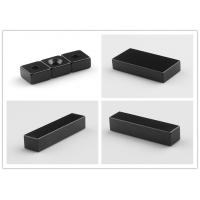 Quality Black Bright Neodymium Block Magnets , High Power Epoxy Coated Magnets wholesale