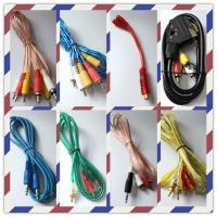 Quality Audio line/audio & video cable/RCA cable/cannon cable/3.5mm audio cable wholesale