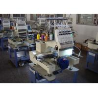 Quality High Speed Automatic Embroidery Machine , Multi - Languages 1 Head Embroidery Machine New wholesale