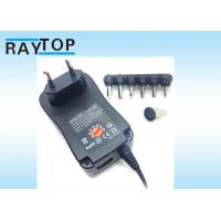 Quality 3-12V  7.2W 12W 18W  24W  30W universal Wall Mount Power Adapter  USB 5V 1A wholesale