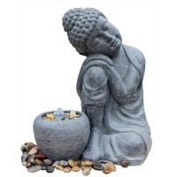 Quality Hand Holding Face To Have A Rest Buddha Water Fountain For Garden And Home wholesale