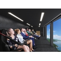Quality 360 Degree Vision Flying Theater Experience With 72 Electric Motion Seats wholesale
