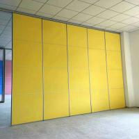 China Building Materials Interior Decoration Movable Folding Soundproof Sliding partition wall on sale
