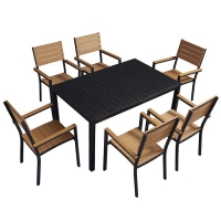 Quality Coastal 0.5CBM Dining Table Chairs Outdoor Garden Furniture wholesale