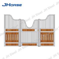 China Bamboo Barn Stable Horse Stall Fronts Door Measurements Gate Designs Free on sale