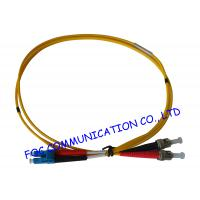 Quality LC - ST SM Fiber Optic Patch Cord , Single Mode fiber optic network cable wholesale
