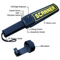 Cheap High Sensitivity Hand Held Security Detector , Metal Detector Scanner For Airport for sale