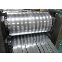 Quality 8000 Series Mill Finished Aluminum Fin Strips Heat Exchange Materials For Air Dryer wholesale
