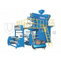 Quality Rotational Die PP/ HDPE / LDPE Film Blowing Machine With Bottom Blowing Type wholesale