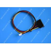 Buy cheap 15Pin SATA Male to 4Pin Molex Female Power Cable Computer Use from wholesalers