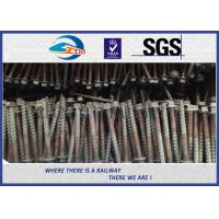 Quality Q235 Galvanized Washer Head Timber Drive Screw For Rail Fastening System wholesale