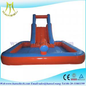 Quality Hansel Popular amusement park inflatable slide, inflatable slide big wholesale