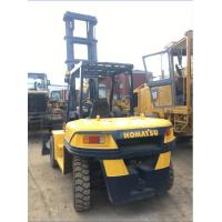 China Komatsu FD100 Used 10 Ton Forklift , Reconditioned Forklift Trucks 2013 Year on sale