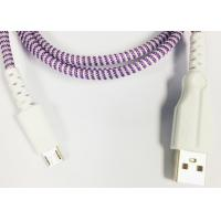 Quality Lightning / Type-C Plastic Head Braided Micro USB Charging Cable 1m 2m 3m wholesale