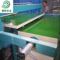 China Moisture Proof  WBP Plastic Ply Board / Plastic Coated Plywood For Trailers on sale