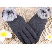 Quality Winter Women'S Gloves With Touch Screen Fingertips , Soft Gloves For Cell Phone Use  wholesale