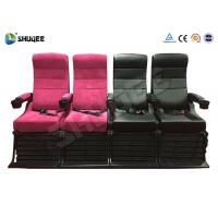 Quality Electric 4D Movie Theater Motion Chair With Special Effect System 1 Year Warranty wholesale
