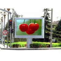 China Customized Outdoor Commercial Advertising Full Color LED Display P10 LED Video Wall SMD Synchronous Control on sale
