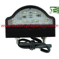 Buy cheap Waterproof LED License Plate Light E-Mark Approval Automobile Spare Parts Bus from wholesalers