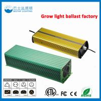 China High Pressure Sodium Usage Electronic Ballast/1000W HPS Electronic ballast on sale