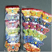 Quality Multi Fruit Flavour Compressed Hard Candy Butterfly Shaped 12 Months Shelf Time wholesale