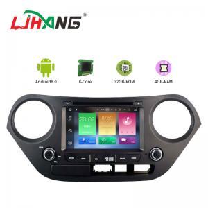 China Mirror Link SWC Hyundai Elantra Dvd Player , Built - In GPS Hyundai Portable Dvd Player on sale