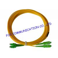 Quality Yellow Fiber Optic Patch Cord to Double Density of Fiber Termination Equipment wholesale