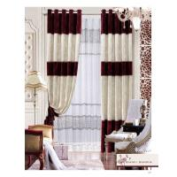 Buy cheap Customized Blackout Polyester Home Textile Products Modern Bedroom Window Curtain product