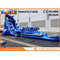Quality Giant Outdoor Inflatable Water Slides For Kindergarten / Hotel / School wholesale
