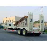 Quality 12.7m 2 axles 40T Low Bed Semi-Trailer 9402TD13M wholesale