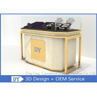 Quality Lockable Retail Jewelry Store Jewelry Display Counter With OEM Logo wholesale