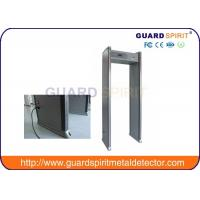 Quality Single Zone And Multi Zones Archway Metal Detectors Door Frame Airport Security Machines wholesale