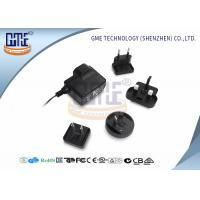 Quality Glucose Meter AC DC Adapter 6V 500Ma , Interchangeable AC DC Plug Adapter wholesale