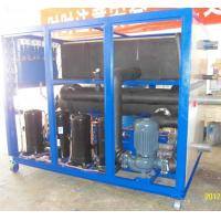 Quality Industrial Water Cooled Processing Chillers With Shell and Tubes Evaporator and Stainless Steel Water Tank wholesale