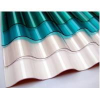 China 3.5mm 50 Micron Corrugated Polycarbonate Sheets Clear with Stable weather ability on sale