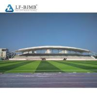 Buy cheap Sports Center Steel Structure Building Architectural Stadium Roofing Design from wholesalers
