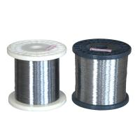 China Fe Base Heating Wire OCr21Al6Nb FeCrAl alloy 1mm~8mm heating resistance wire for braking resistor on sale