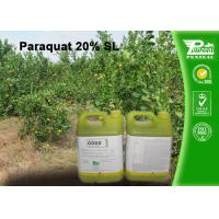 Quality Paraquat 20% SL Selective Herbicide  control of weeds and grasses Cas No.4685-14-7 wholesale