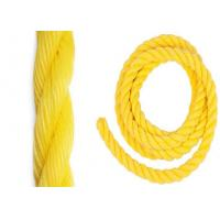 Cheap PP monofilament 6mm - 38mm twist 3-strand Rope used for boat marine fishing for sale