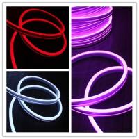 China Ultra thin 11x19mm flexible led neon strip light flat emitting side view Neonflex on sale