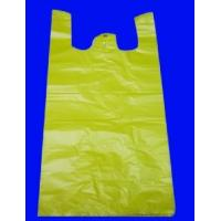 Quality HDPE Yellow T-Shirt Bag wholesale