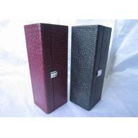 Quality Glass Bottle Wine Packaging Boxes Recyclable For Gift , Flexo Printing wholesale