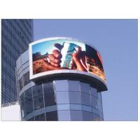 Cheap 3 In 1 LED Digital Billboard Outdoor 10 - 50m Viewing Distance for sale