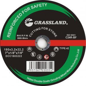 "Quality 7"" Metal Stainless Steel Depressed Center Inox Grinding Wheel Disc 180*3.2*22.2 wholesale"