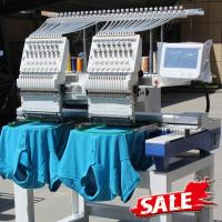 Quality Two Heads Wonyo Computer 3D Embroidery Machine For Caps , Long Life Time wholesale