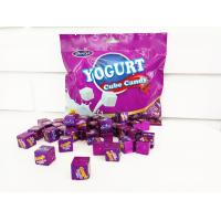 Quality 50pcs Cube Shaped Candy / yogurt flavored milk candy 2.75g * 50 * 25bags wholesale