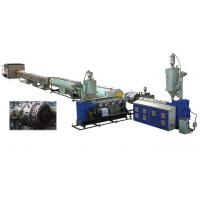 Quality Water Supply PVC Pipe Extrusion Machine Conical Twin - Screw Extruder wholesale
