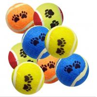 China Puppy Dogs Healthy Pets Recreational Exercise Toy Tennis Balls Non Abrasive on sale