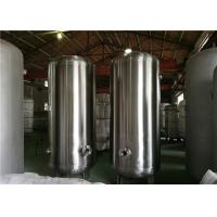 Quality Horizontal Pressure Vessel Design Gas Storage Tanks , Stainless Steel Pressure Tank wholesale